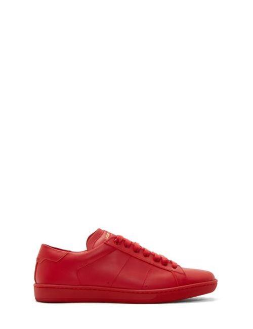 Saint Laurent   Красный Red Sl-01 Low-Top Sneakers