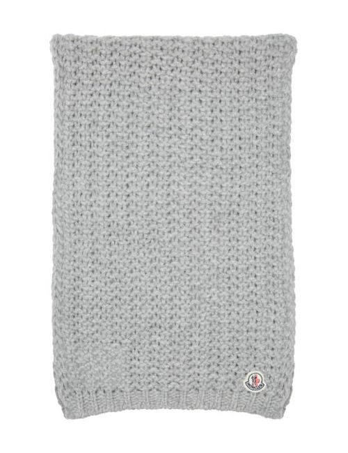 Moncler | Серый Grey Knit Scarf