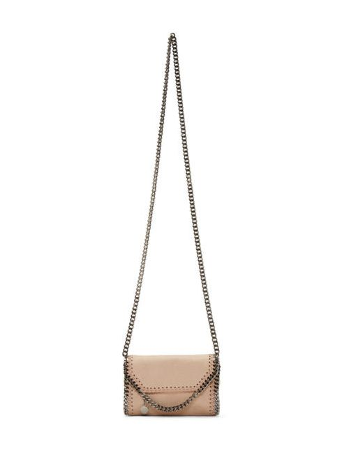 Stella Mccartney | 6802 Powder Pink Tiny Falabella Shaggy Deer Bag