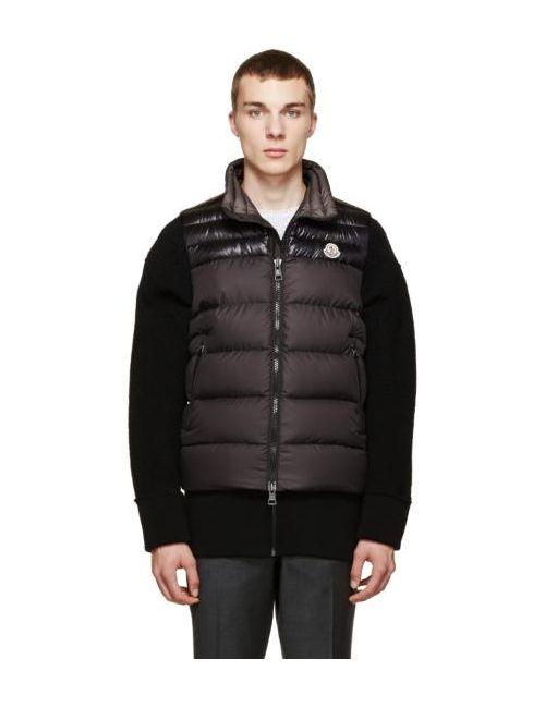 Moncler | Чёрный Black Down Dubres Vest