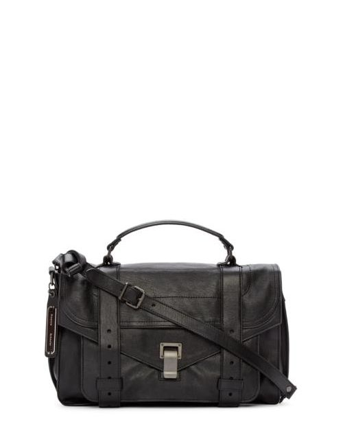 Proenza Schouler | Черный Black Ps1 Medium Satchel