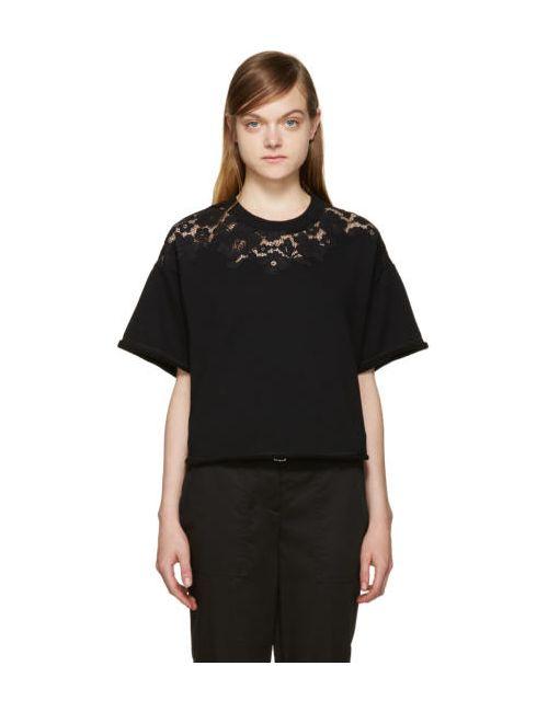 3.1 Phillip Lim | Чёрный Lace Pullover