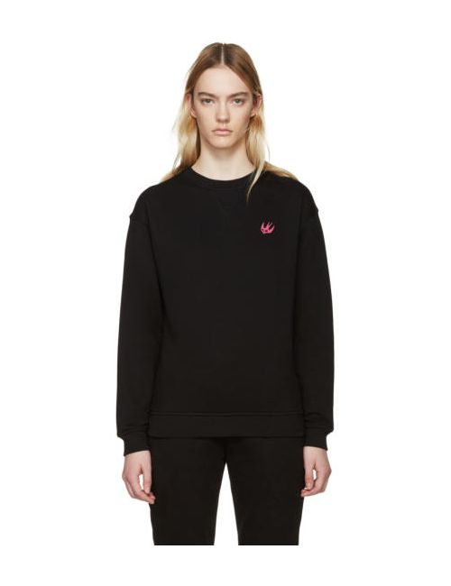 Mcq Alexander Mcqueen | Черный Black Embroidered Pullover