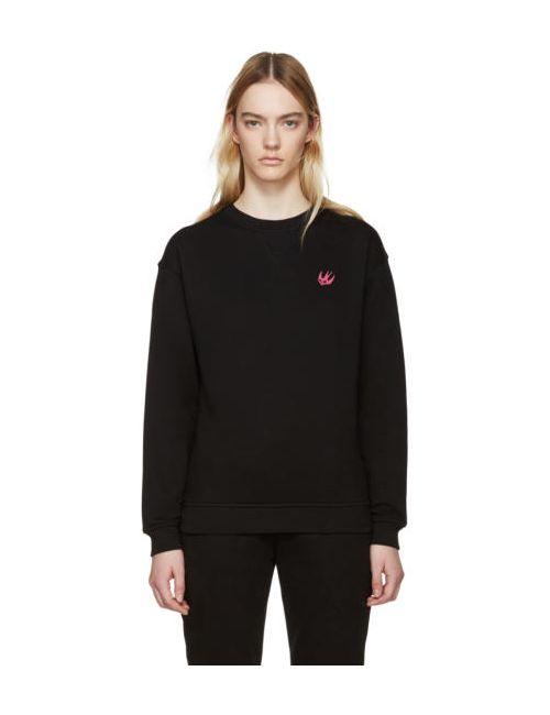 Mcq Alexander Mcqueen   Чёрный Black Embroidered Pullover