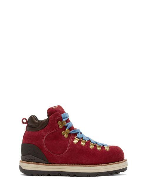 Visvim | Красный Suede Serra Boots