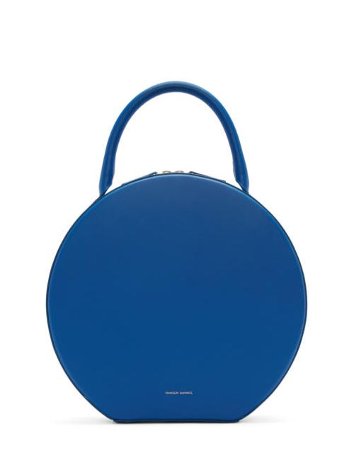 MANSUR GAVRIEL | Royal & #47; Royal Blue Leather Circle Bag
