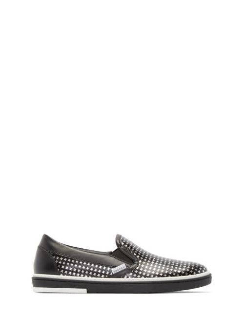 Jimmy Choo | Чёрный Black And Silver Houndstooth Grove Sneakers