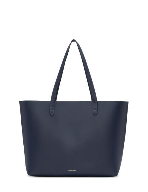 MANSUR GAVRIEL | Синий Navy Leather Large Tote