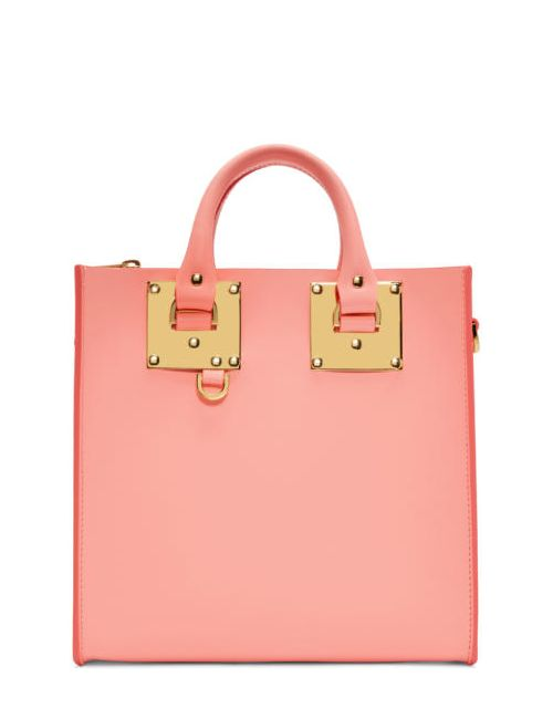 Sophie Hulme | Розовый Pink Square Albion Tote