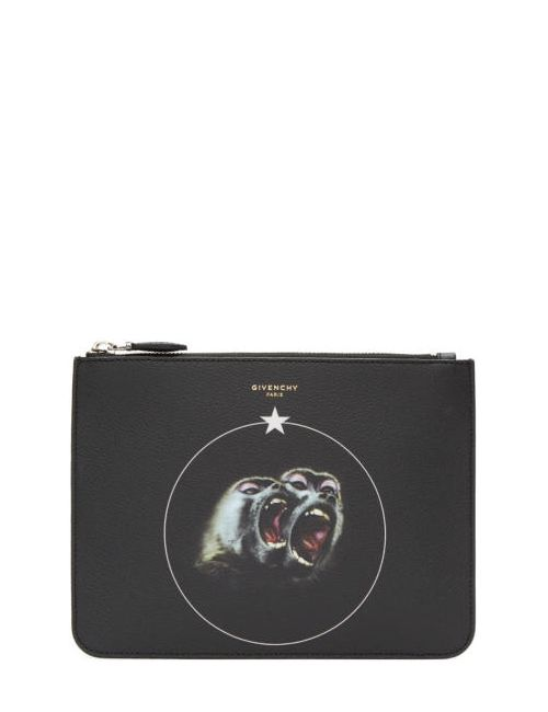 Givenchy | 960 Print Black Monkey Brothers Pouch