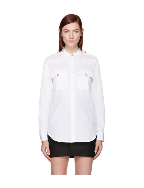 Dsquared2 | Белый White Sergeant Shirt