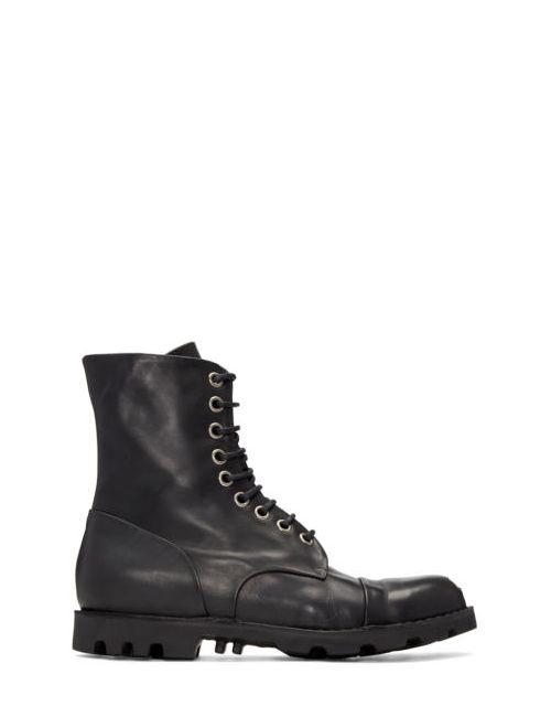 Diesel   Чёрный Black Steel Boots
