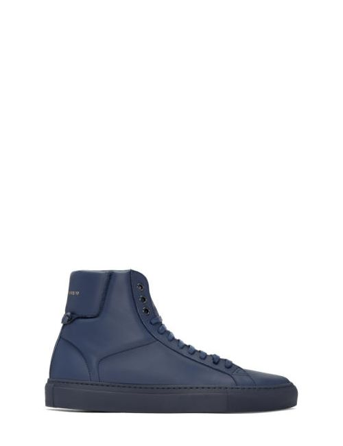 Givenchy | 410 Navy Navy Urban Knots High-Top Sneakers