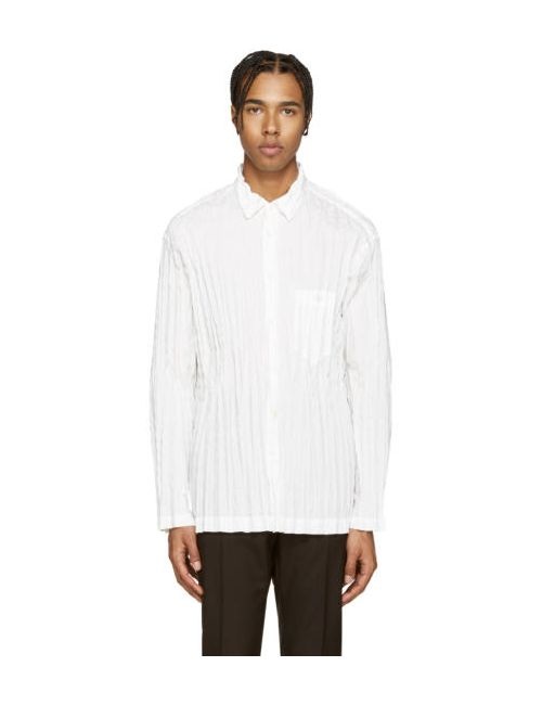 Issey Miyake | Белый Men White Torus Shirt