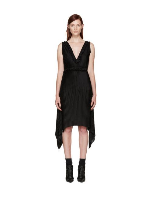 Givenchy | Чёрный Black Pleated Dress