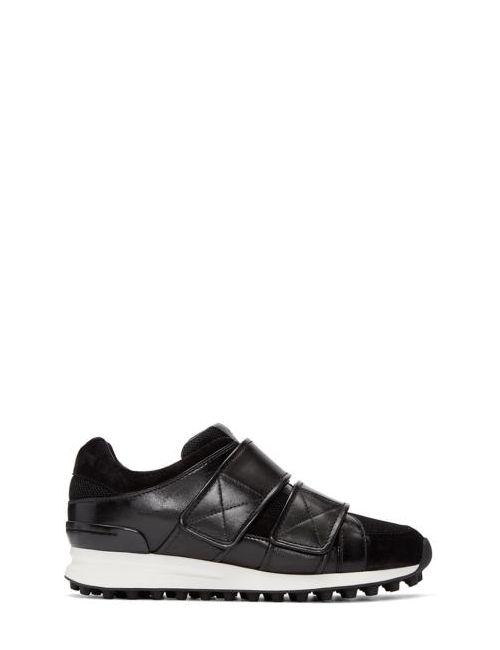 3.1 Phillip Lim | Черный Black Leather Trance Sneakers