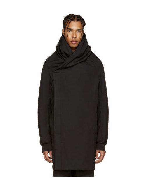 Rick Owens | Черный Black Wotan Coat