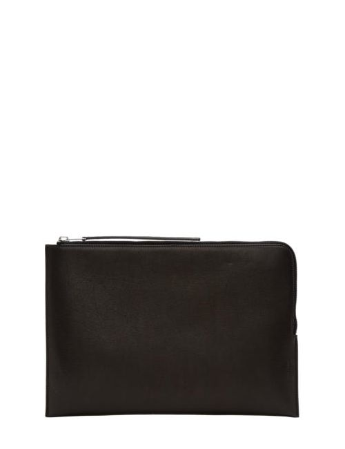 Rick Owens | Чёрный Black Large Zippered Pouch