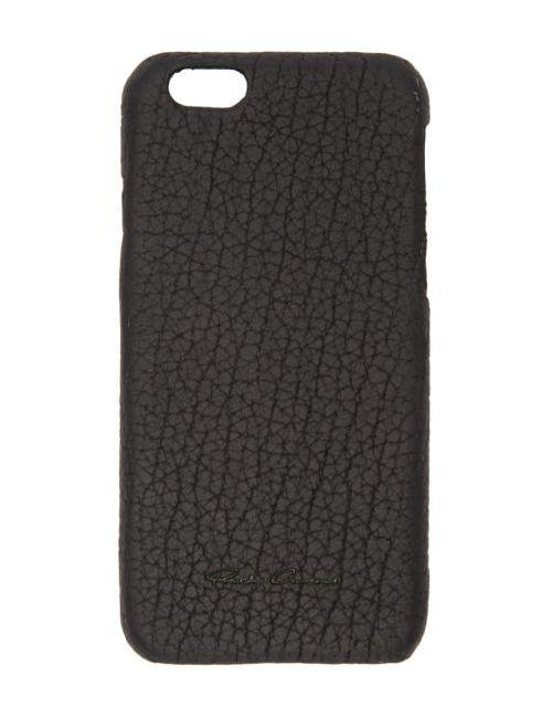 Rick Owens | Чёрный Black Leather Iphone 6 Case