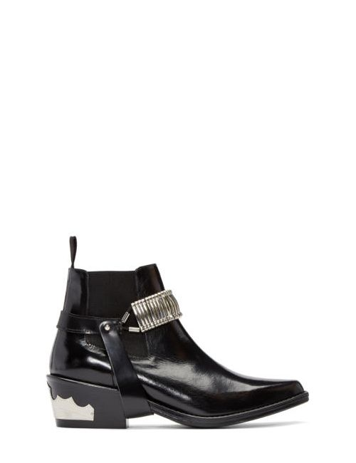 Toga Pulla | Чёрный Strap Chelsea Boots