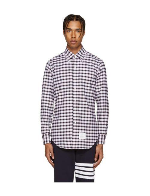 Thom Browne | 960 Rwb Tricolor Classic Check Shirt