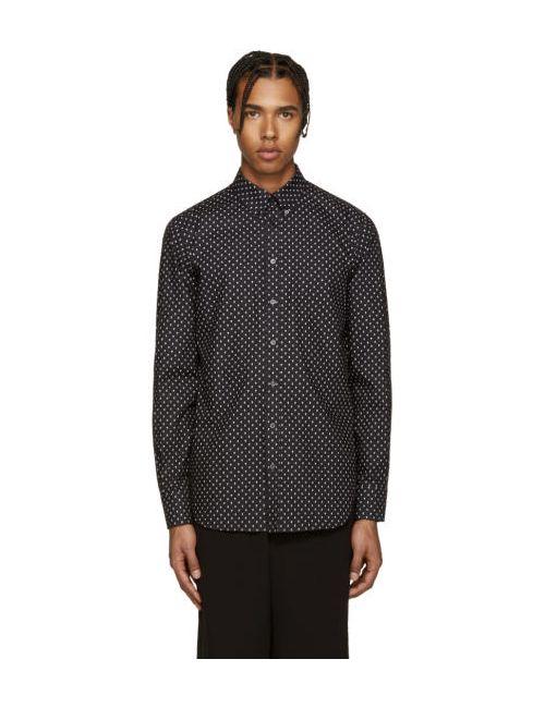 Alexander McQueen | Чёрный Black Micro Skull Shirt