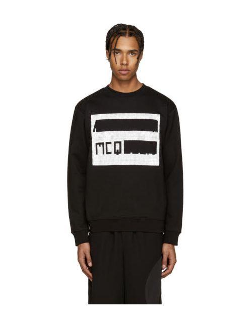 Mcq Alexander Mcqueen | Черный Black Logo Pullover