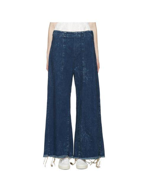 Chloe | Женское Синий Chloé Indigo Wide-Leg Jeans