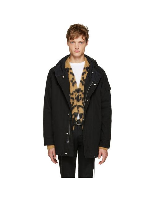 Saint Laurent | Чёрный Black Twill Parka