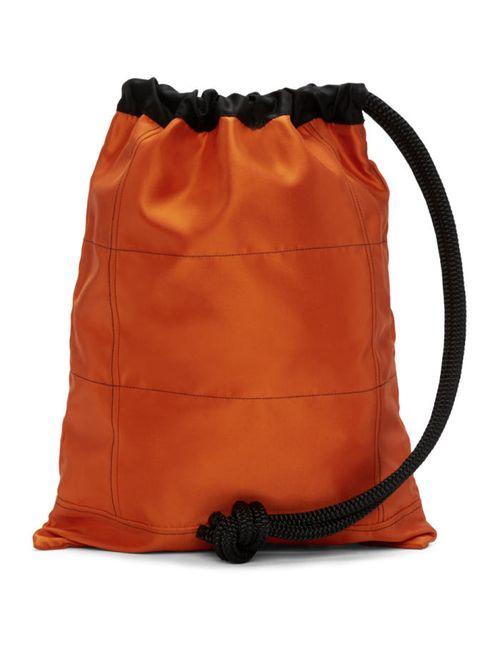 Ribeyron | Чёрный Orange Oversized Bag