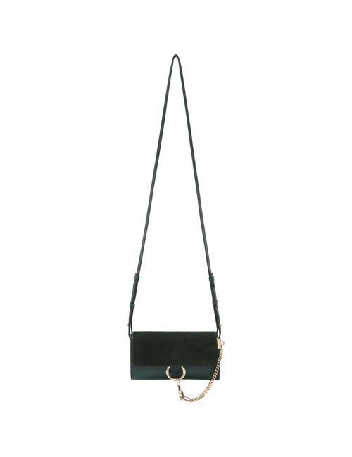 Chloe | Зелёный Chloé Green Faye Wallet Bag