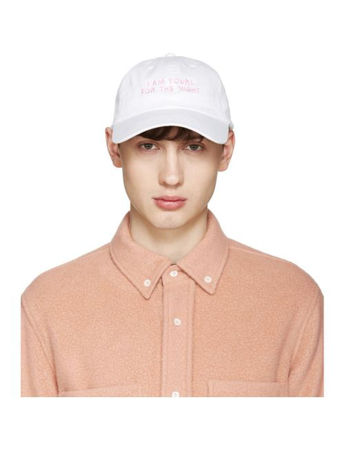 Nasaseaons   Розовый Ssense Exclusive White I Am Yours Cap