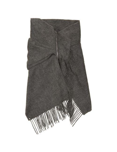 Bless | Серый 88 Draps Scarf