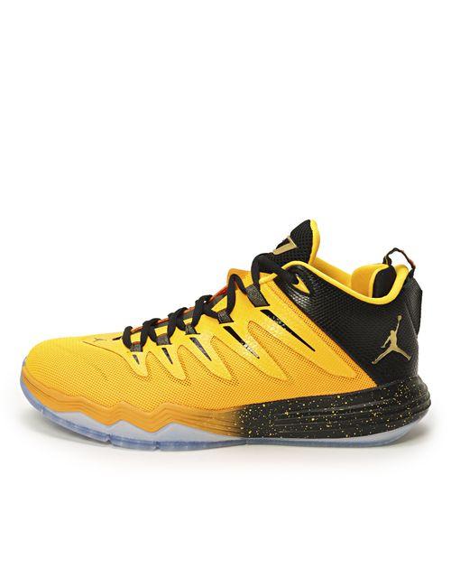 Jordan | Мужские Жёлтые Кроссовки