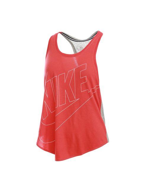 Nike   Женские Красные Футболки И Майки