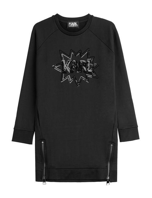 Karl Lagerfeld | Женское Черный Sweatshirt With Sequins Gr. S