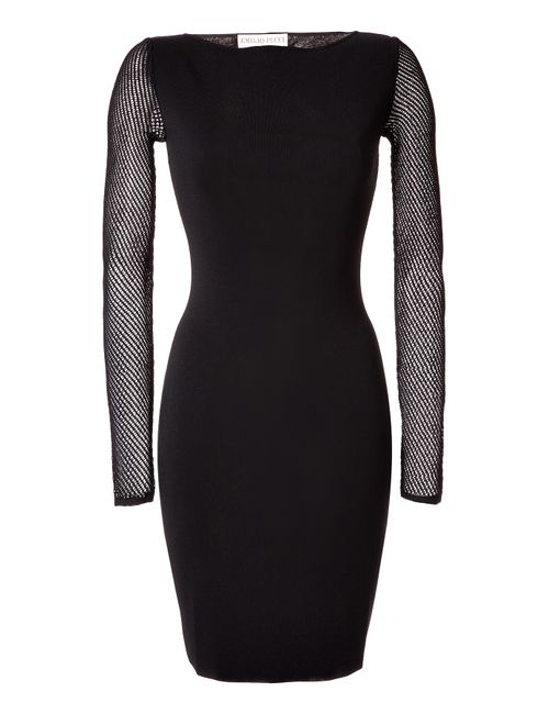 Emilio Pucci | Женское Black Stretch Knit Dress Gr. L