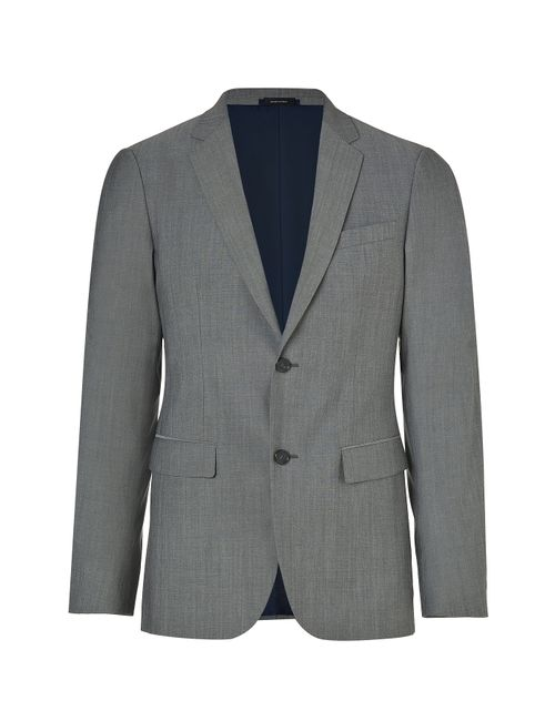 Jil Sander | Мужское Серый Peat Wool Blend Smart Fit Blazer Gr.