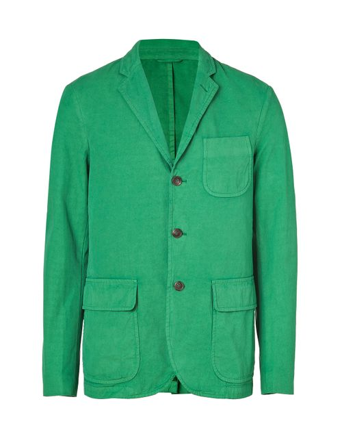 Polo Ralph Lauren | Мужское Зелёный Green Laundered Chino Jacket Gr. 50