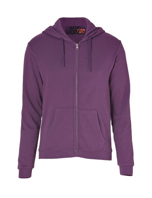 Free City | Фиолетовый Grapely Violet Zip Hoodie With Friend Back
