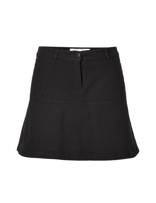 Vanessa Bruno Athe' | Женское Чёрный Black Cotton A-Line Skirt Gr. 34