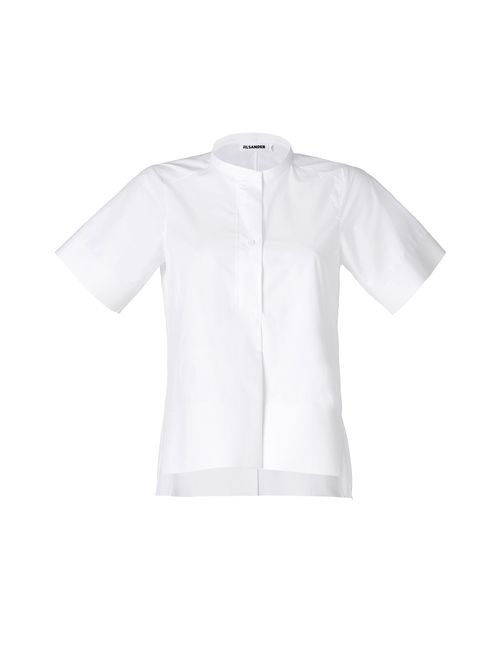 Jil Sander | Женское Белый White Cotton Top Gr. 34