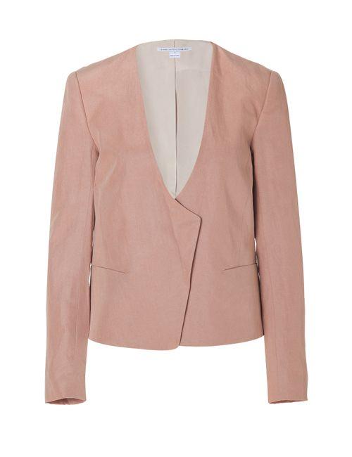 Diane Von Furstenberg | Женское Feriha Blazer In Peach Buff Gr. 36