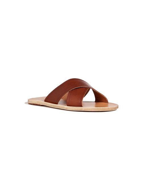 ANCIENT GREEK SANDALS | Мужское Camel Leather Sandals Gr. 40