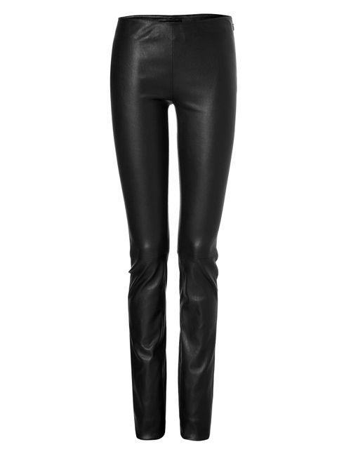 Jitrois | Женское Чёрный Leather Calecon Leggings Gr. Fr 38