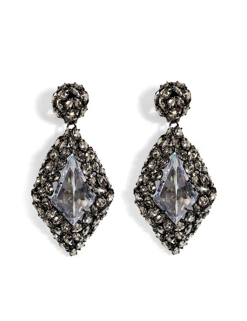 Alexis Bittar | Женское Серебристый Crystal Pendant Earrings Gr. One Size