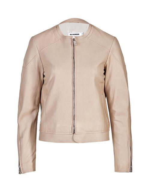 Jil Sander | Женское Бежевый Leather Rawls Jacket Gr. 34