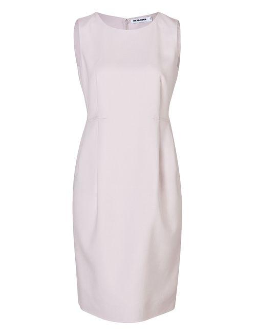 Jil Sander | Женское Wool-Silk Darted Dress Gr. 34