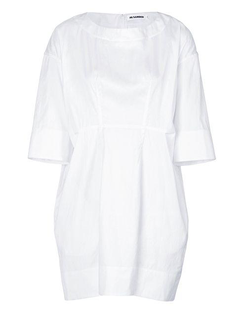 Jil Sander | Женское Белый Cotton Sateen Tunic Gr. 34