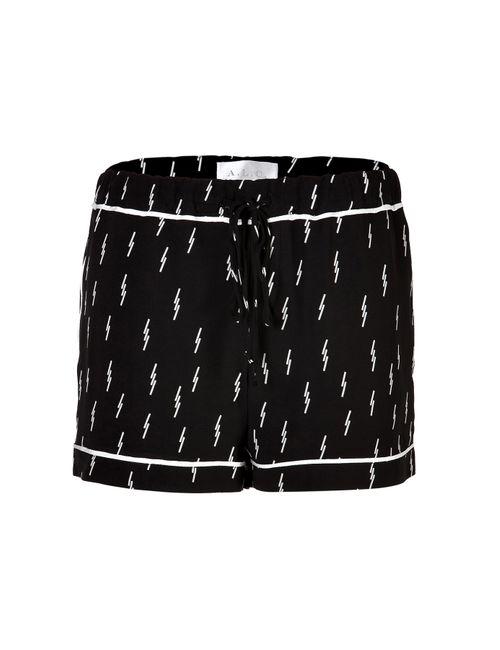 A.L.C. | Женское Чёрный Printed Shorts Gr. M